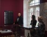 Ekskursija izstādē ar tās autoru Aivaru Siliņu, 09.11.2019