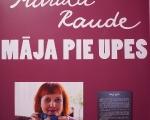 Marutas Raudes porcelāna darbu iztādes ''Māja pie upes'' atklāšana, 13.03.2020